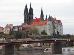 ehemaliges Bischofsschloß - heute Amtsgericht Meissen