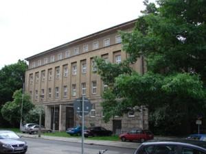 Gebäude ehemalige Hochschule für Musiks Carl Maria v. Weber in Dresden